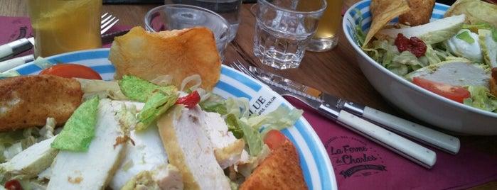 La Ferme de Charles is one of Brunchs buffet.