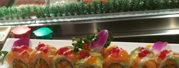 Wasabi Japanese Steakhouse & Sushi Bar is one of Locais salvos de Terri.