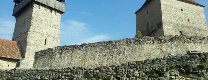 Cetatea Câlnic is one of UNESCO World Heritage Sites in Eastern Europe.