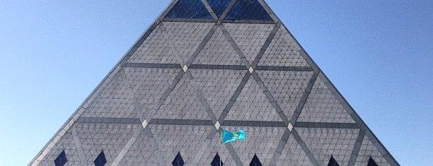 Бейбітшілік және келісім сарайы is one of Nur-Sultan.