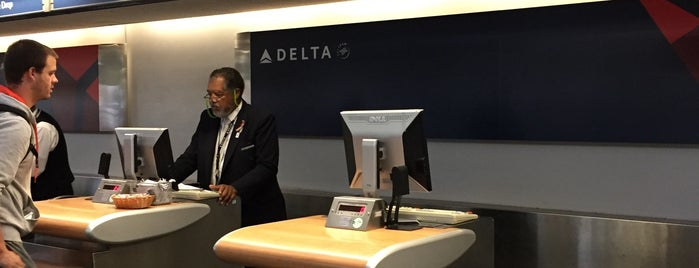 Delta Sky Priority Security Check is one of Jen's Liked Places.