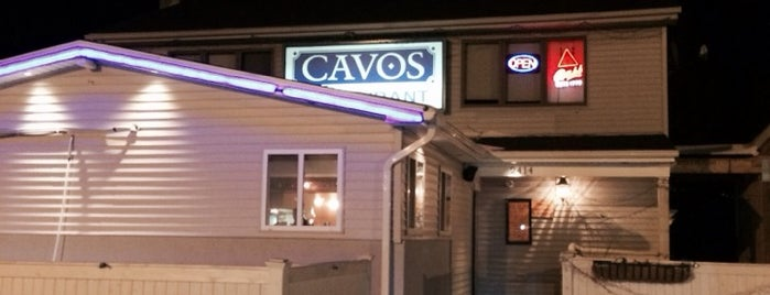 Cavos Tavern & Pizzeria is one of Around Town.