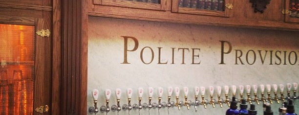 Polite Provisions is one of BEST..