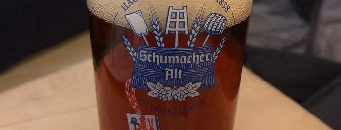 Brauerei Schumacher is one of Orte, die Alisa gefallen.