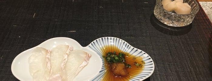 Sushi Takehan Wakatsuki is one of Lugares favoritos de Ben.