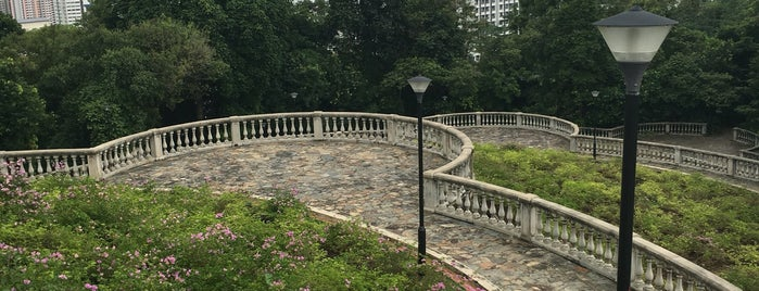 Terrace Garden (Hilltop Walk) is one of Posti che sono piaciuti a Ben.