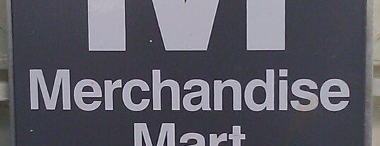 CTA - Merchandise Mart is one of Lugares favoritos de Photo.
