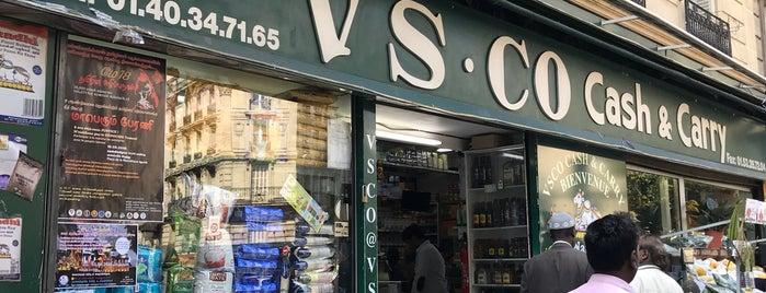 VS Co. Cash & Carry is one of Paris.