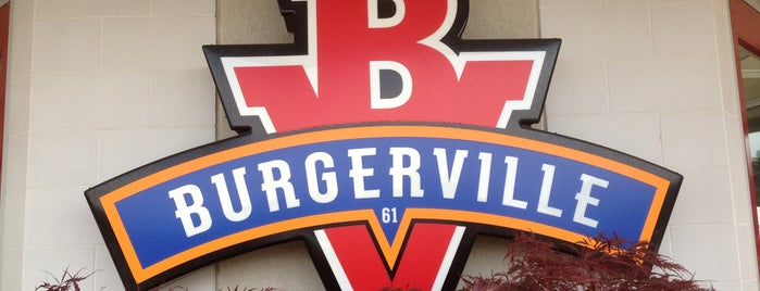 Burgerville is one of Posti salvati di Christopher.