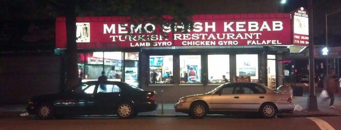 Memo Shish Kebab is one of สถานที่ที่ Kathleen ถูกใจ.