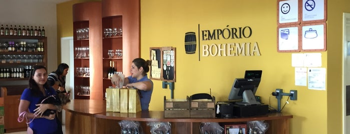 Empório Bohemia is one of Dade 님이 저장한 장소.