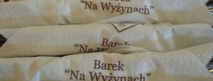 Barek Na Wyżynach is one of Favorite food.