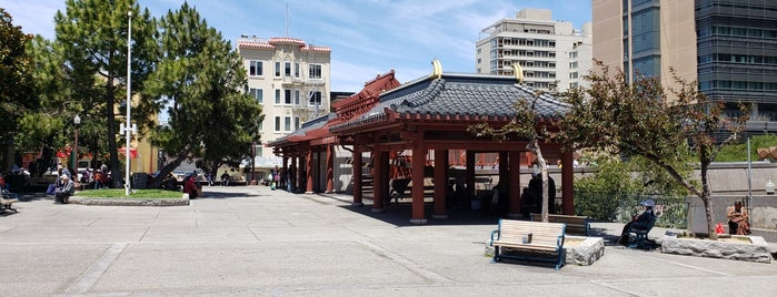 Portsmouth Square Park is one of San Francisco Dos.
