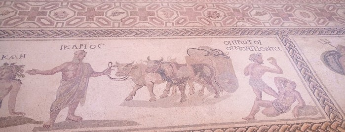 Paphos Mosaics is one of Cyprus. Places.