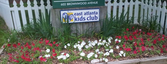 Brownwood Park is one of ATL.