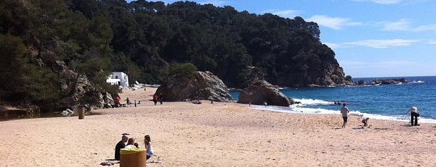 Playa de Canyelles is one of 2013 - Espanha.