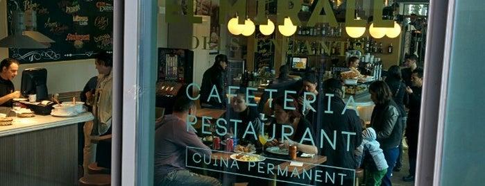 el Mirall dels Encants is one of Restaurants - Barcelona.