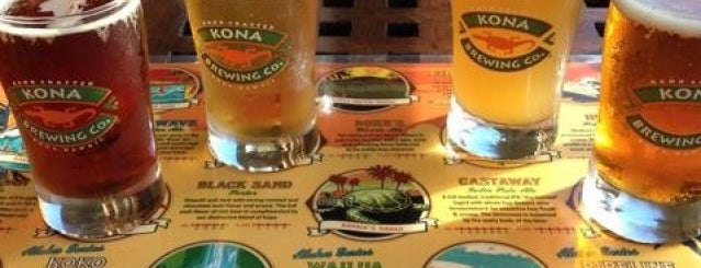 Kona Brewing Co. is one of Hawaii.