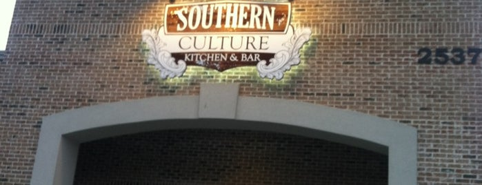 Southern Culture Kitchen and Bar is one of Greenville.