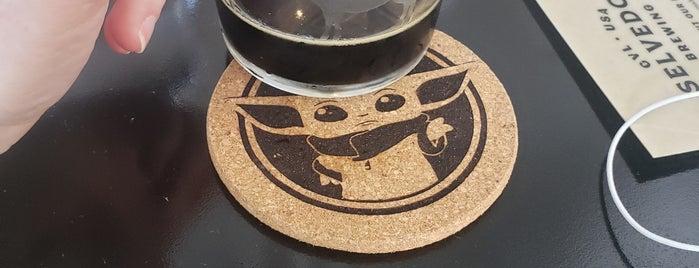 Selvedge Brewing is one of Orte, die Bridget gefallen.