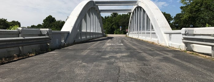 Rainbow Arch Bridge is one of Route 66 Roadtrip.