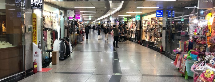 Myeongdong Underground Shopping Centre is one of K.