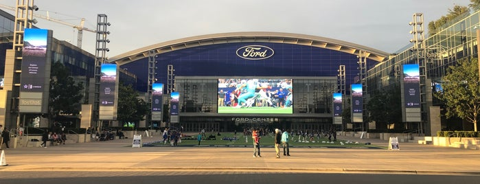 The Star in Frisco is one of Dallas/Ft. Worth.