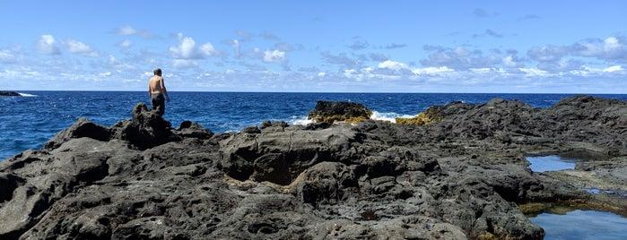 Olivine Pools is one of Maui.