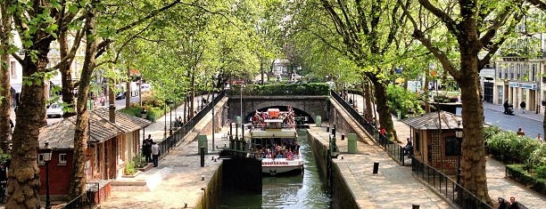 Canal Saint-Martin is one of Lieux sauvegardés par Vanessa.