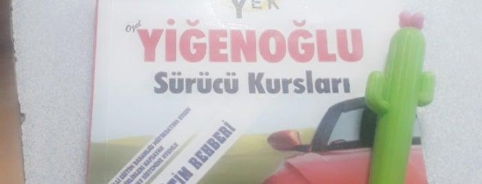 Yigenoglu Surucu Kursu is one of Mustafa 님이 좋아한 장소.