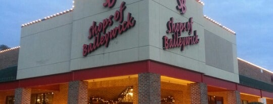 Shops of Baileywick is one of Raleigh Localista Favorites.