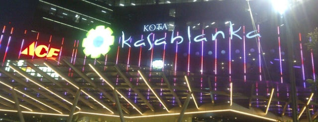 Kota Kasablanka is one of YOLO.