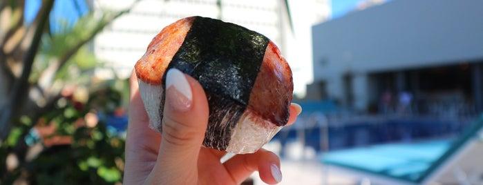 Musubi and Bento Iyasume is one of Waikiki.