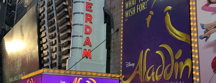 Aladdin @ New Amsterdam Theatre is one of Jacquelineさんのお気に入りスポット.