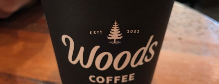 Woods Coffee is one of Grace's Liked Places.