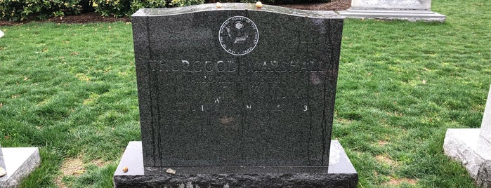 Thurgood Marshall Gravesite is one of D.C..