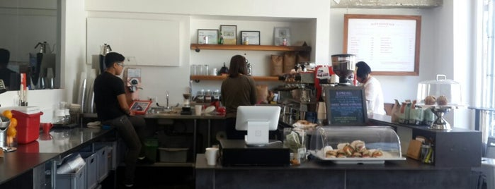 Elite Audio Coffee Bar is one of Laptop-friendly cafés in SF.