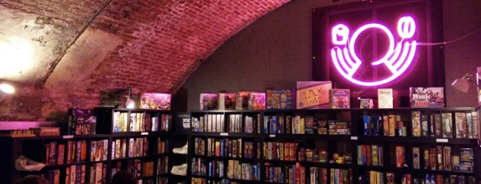 Draughts is one of Board Game Cafes.