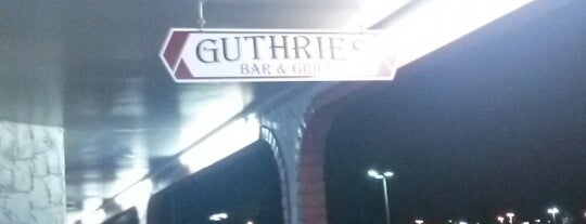 Guthrie's is one of Lugares guardados de Ike.
