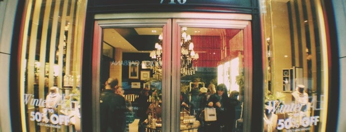 "Henri Bendel is one of ""Oh, I love New York""."