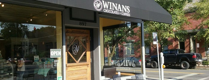 Winan's Fine Chocolates & Coffees is one of MY FAVORITE PLACES.