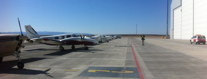 Aeropuerto de Teruel-Caudé (LETL) is one of Shooting locations.