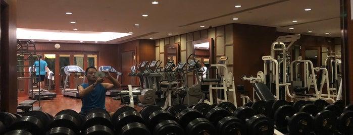 Grand Hyatt Oasis Pool and Spa is one of Jae Eun 님이 저장한 장소.