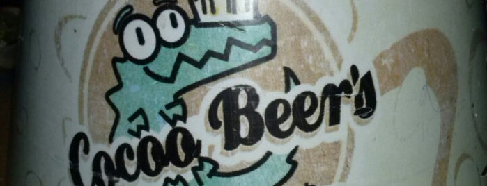 Cocoo Beer's is one of Locais curtidos por Eduardo.