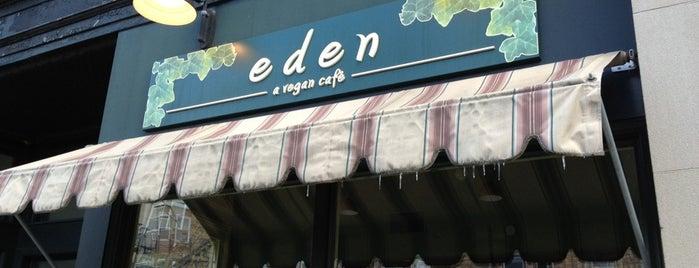 eden-a vegan cafe is one of Lugares guardados de Patrice M.