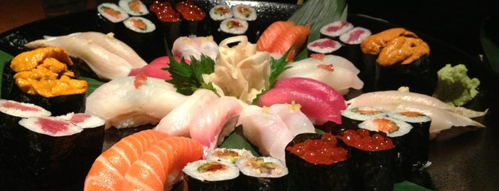 EN Japanese Brasserie is one of 寿司.