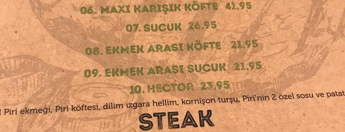 Piri Köfte & Burger is one of Gidip Denemeli.