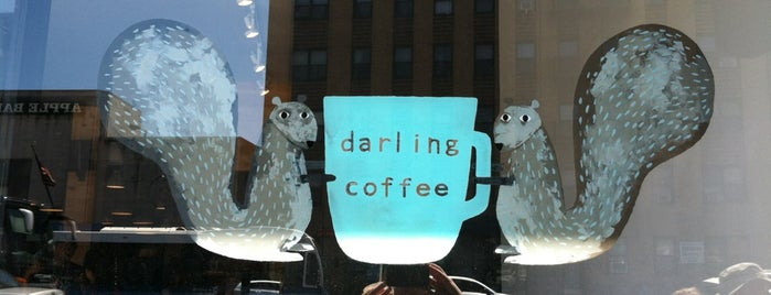 Darling Coffee is one of Notable Coffee Shops (NYC).