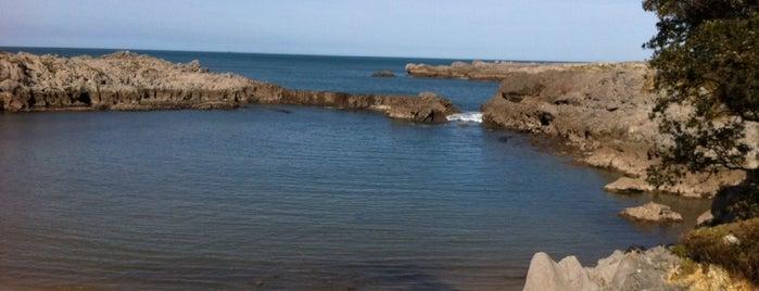 Playa de Arenillas / Islares is one of Playas de España: Cantabria.