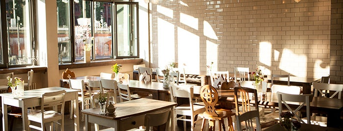 Michelberger Restaurant is one of Breakfast & Lunch in Berlin.